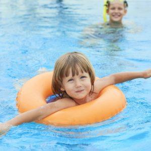 La natation enfants