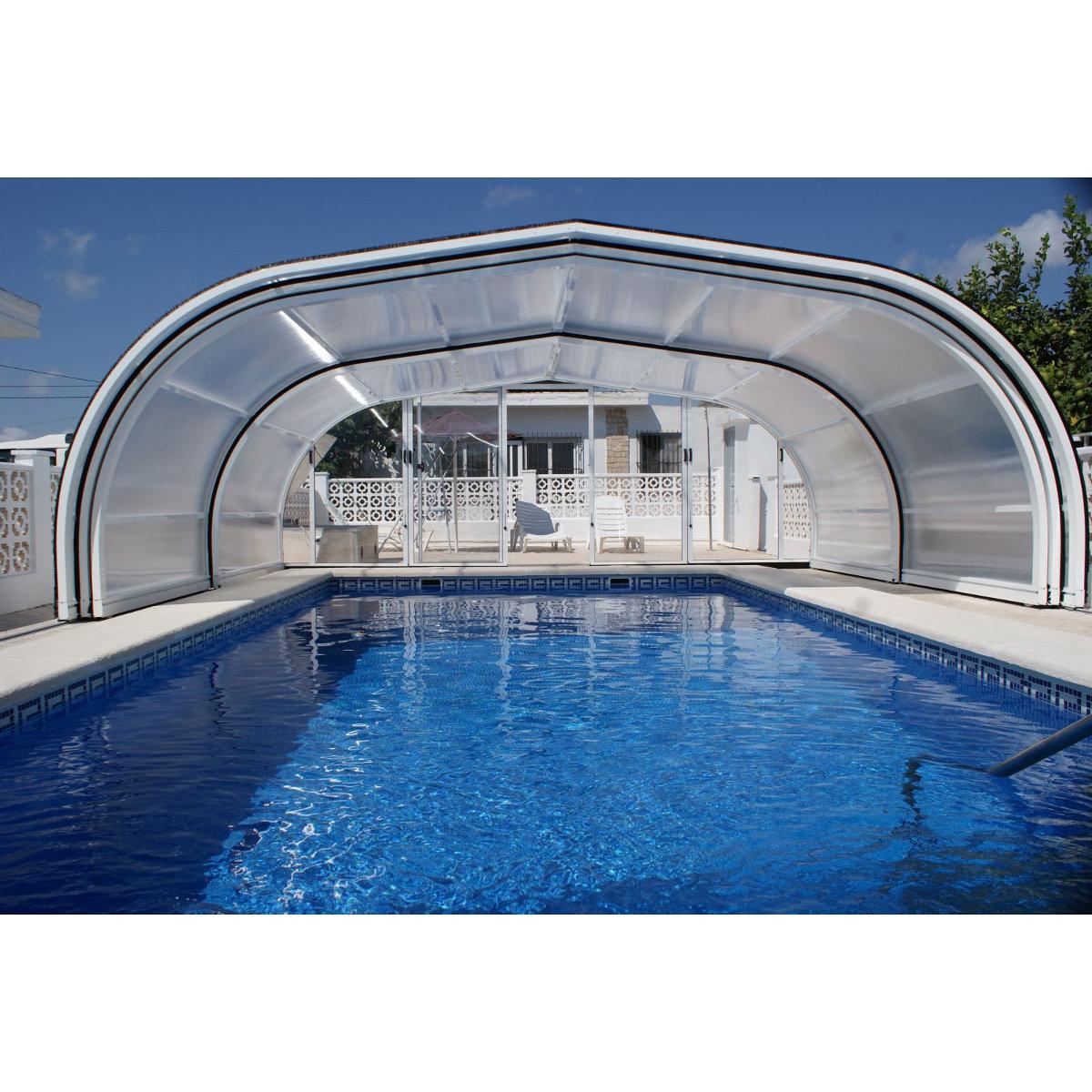 Abri haut pour piscine   VEGAMETAL