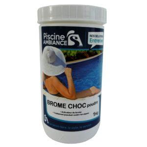 Brome choc poudre 1 kg | PISCINE AMBIANCES