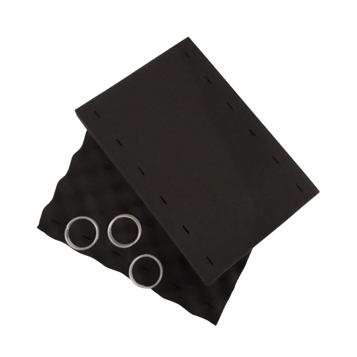Brosses mousse noir + clips pour robot Indigo et Sweepy | ZODIAC