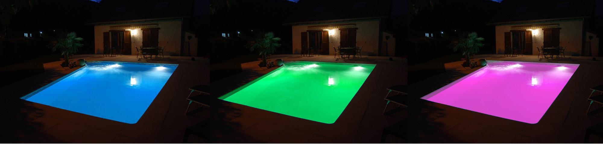 Projecteur 90 LED couleur + télécommande | SEAMAID