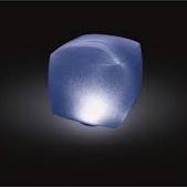 Lampe LED flottant cube | INTEX
