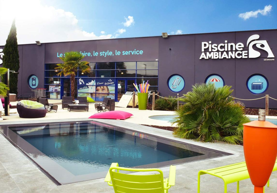 Magasin Piscine Ambiances ouvert