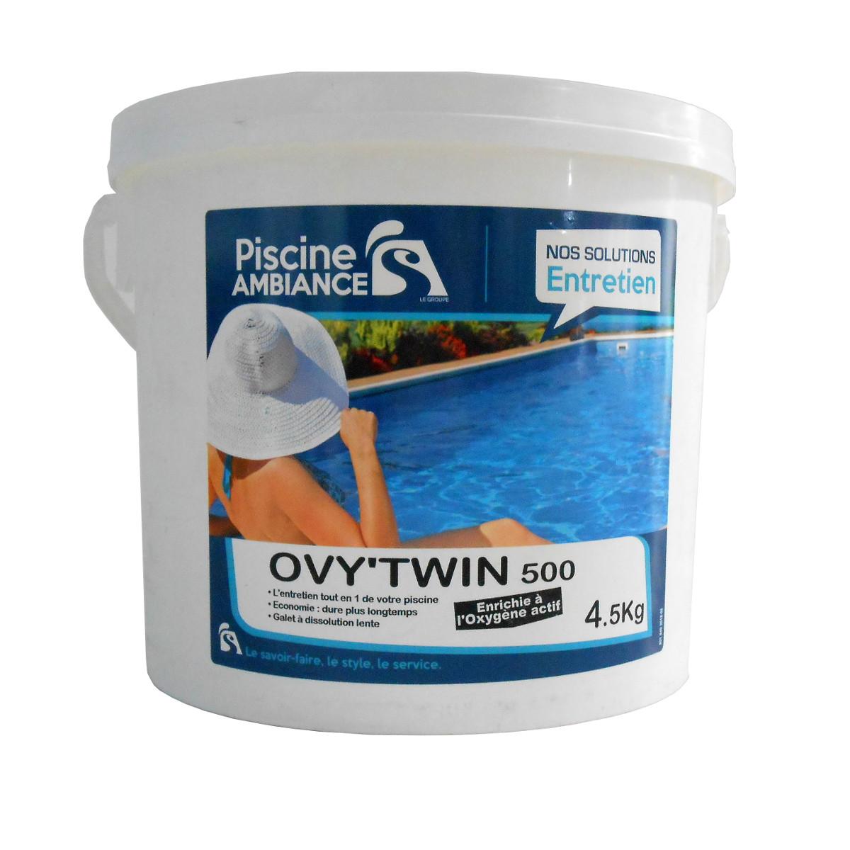 Ovy'Twin 500 4,5kg | PISCINE AMBIANCES