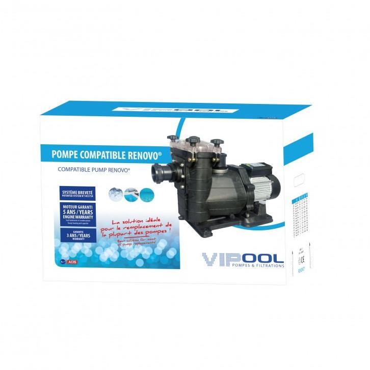 Pompe de filtration RENOVO 0,75 CV | VIPOOL
