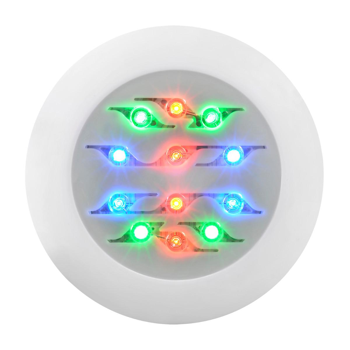 Projecteur 12 leds couleur Easyled EVO blanc | WELTICO