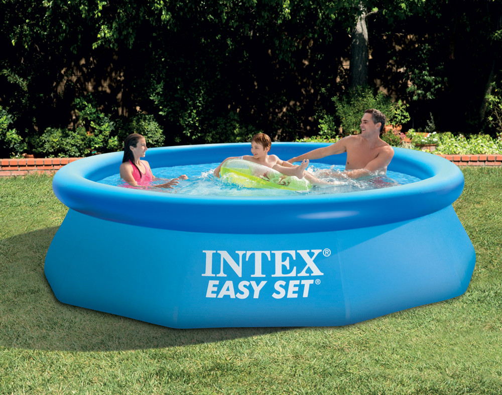 Kit piscinette Easy Set ronde 2,44 X 0,76m | INTEX